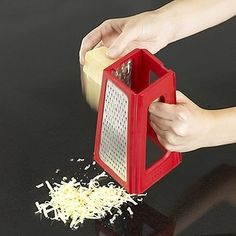 A Fold-Up Cheese Grater | 33 Insanely Clever Things Your Small Apartment Needs THIS IS SO AWESOME