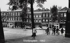 Stieltjesplein Nacht Snackbar 1972 Rotterdam, Street View, History, Night, Historia, History Activities