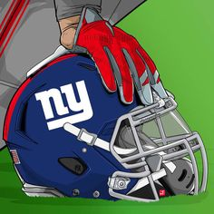 Nfl Football Helmets, Football Art, Football Jokes, Chiefs Football, Nfl Jokes, New York Giants Football, Giants Baseball, Helmet Design, Thing 1