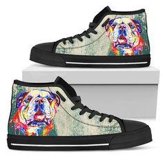 Converse Chuck Taylor High, Converse High, High Top Sneakers, Dog Pattern, Animal Design, Chuck Taylors High Top, Wearable Art, High Tops, Shoes