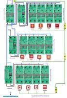 Esquemas eléctricos: Cuadro general para vivienda
