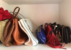 Como arrumar sapatos e bolsas de acordo com o método Marie Kondo
