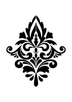 Product description for Damask II French style Shabby Chic Stencils Printable Stencil Patterns, Wall Stencil Patterns, Damask Stencil, Stencil Art, Printable Designs, Stencil Designs, Damask Patterns, Wall Stenciling, Mandala Stencils