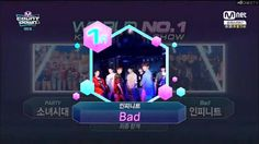 Infinite #Bad3rdWin Mnet Mcountdown