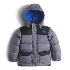 The North Face Toddler Boys' Harlan Down Parka Coat: Kids