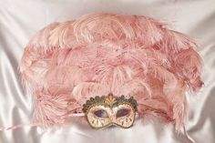 If you're looking for a masquerade mask with plenty of 'wow' factor, then the Luxury Rio Venetian mask with all its feathered glory is sure to meet your requirements. The Rio is a true 'Carnival Mask and is incredibly eye-catching to make sure you stand out from the crowd. Besides the elaborate feather plume, it is also ornately decorated and makes for a truly magnificent masquerade costume centrepiece, whether you're attending the Venice Carnival or a masked ba...