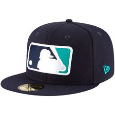 Ken Griffey Jr. Seattle Mariners New Era Youth Logo 59FIFTY Fitted Hat - Navy - $27.99