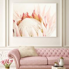 Your place to buy and sell all things handmade Protea Art, Protea Flower, Flowers, Nursery Decor, Bedroom Decor, Baby Bedroom, Wall Art Prints, Fine Art Prints, King Protea