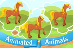 Animals for Tots ($1.99) • Original polished graphics and smooth animations.  • Ten cute farm animals to play with.  • Animal names pronounced by professionally recorded baby voice in English language.  • Animals respond to touch with realistic animations.  • Ability to record animal names in your own voice and language.  • Ability to write animal names in your own language.  • Pleasant well known nursery music    Application is suitable for children as young as 6 months old.