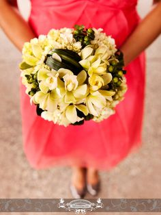 bridesmaid bouquet by: front room photography