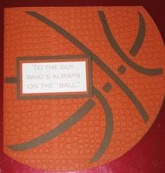 Basketball Birthday Card - Sports Mania - Cards. - Cricut Forums
