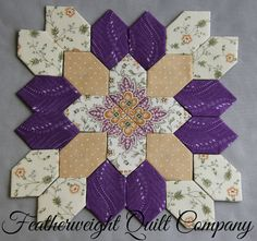 Patchwork of the Crosses Block kit 70 by FeatherweightQuiltCo