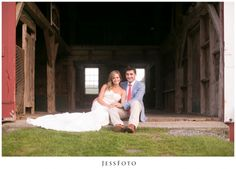 Emily + Tim = Timily : JessFoto : The Inn at Valley Farms : Barn