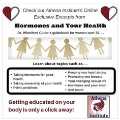 Peek inside Hormones and Your Health to discover women's healthcare topics and tips relevant to you, https://athenainstitute.com/mediaarticles/lookinsidehyh.html #health #women