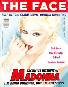 Madonna - The Face Magazine / October 1994 http://allaboutmadonna.com/madonna-library/madonna-interview-the-face-october-1994?utm_content=bufferd4df0&utm_medium=social&utm_source=facebook.com&utm_campaign=buffer