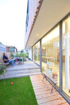 Yellow Iris House by GAAGA Studio / Netherlands