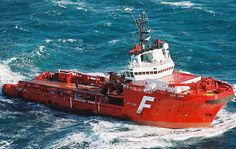 Construction vessel offshore