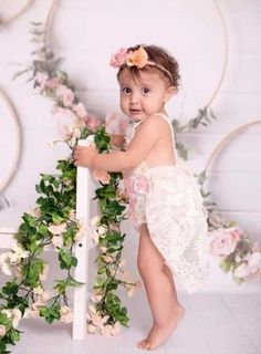 Hazel Vintage Ivory Floral Birthday Tutu Romper This gorgeous ivory tutu romper showcases delicate detailing through the lace skirt and pastel lace floral motif. The cord straps are soft to the skin and are adjustable so that it isn't so tight on your child's shoulders. Great for a first birthday shoot, or a summer soiree! Baby Tutu Dresses, Tutu Outfits, Girl Outfits, Flower Girl Dresses, Baby Girl First Birthday, 1st Birthday Outfits, Birthday Tutu, Baby Fall Fashion, Fall Fashion 2016