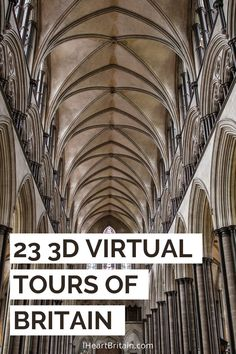 Love to travel but stuck at home? Luckily you can go on 23 3d virtual tours of sights around Britain.
