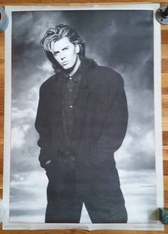 80/'s Vintage Eighties Art Photo Poster DURAN DURAN 03 24 inch by 36 inch