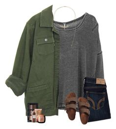 """goodwill is the bomb"" by southerngirl03 ❤ liked on Polyvore featuring Free People, Michael Kors, Hollister Co., Birkenstock, NARS Cosmetics, Williams-Sonoma and L'Oréal Paris"