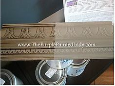 Coco Chalk Paint® Litre -California Prop 65 Warning - Visit HERE. Coco Chalk Paint® by Annie Sloan packaged in a litre container compared to the C Annie Sloan Chalk Paint Coco, Annie Sloan Paints, Chalk Paint Projects, Chalk Paint Furniture, Paint Ideas, Furniture Refinishing, Furniture Makeover, Wood Projects, Furniture Ideas