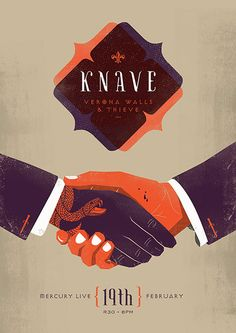 Knave, Verona Walls Thieve - Velcro Suit - The Graphic Design and Illustration of Adam Hill. Flyer And Poster Design, Poster Design Inspiration, Flyer Design, Creative Design, Design Art, Print Design, Poster S, Poster Prints, Graphic Posters