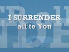 Surrender -planetshakers
