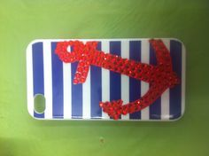 DIY iPhone anchor case, do it without the crystals though.