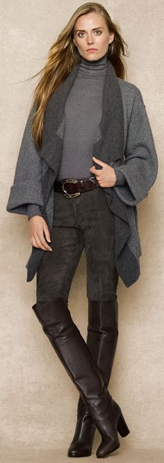 Ralph Lauren Blue Label. Always LOVE his fall collections