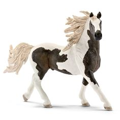 Schleich Exclusive - Pinto Stallion - Dark Bay Liver Chestnut Silver Black 5bdc8923bd3