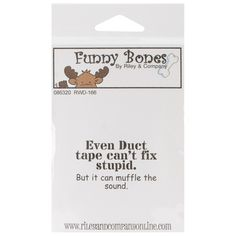 Riley and Company Funny Bones Stamps