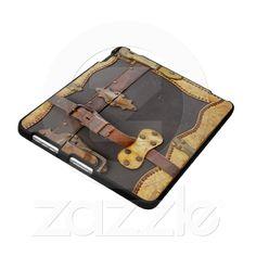Steampunk luggage ipad case