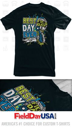Top Selling Field Day T-shirt TS16-01 Field Day Activities, School Spirit Wear, Pta, Shirt Ideas, Olympics, Shirt Designs, Hero, Mens Tops, How To Wear