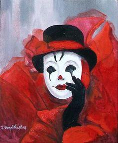 """Clown"" - By Dorina Costras"