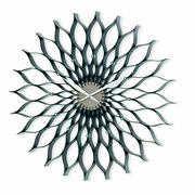 Nuevo Living Lotus Clock - Black