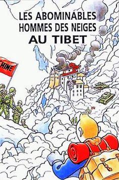 Les abominables hommes des neies au Tibet