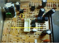 electronics repair made easy: Aucma CRT television screen blank but power ON led lighted. Sony Led, Led Televisions, Kenya, Make It Simple, I Shop, Electronics, Easy