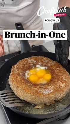 Fun Baking Recipes, Brunch Recipes, Cooking Recipes, Breakfast Dishes, Breakfast Casserole, Breakfast Recipes, Tasty, Yummy Food, Food Videos