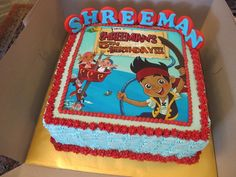 Jake And The Neverland Pirates Cake | Recent Photos The Commons Getty Collection Galleries World Map App ...