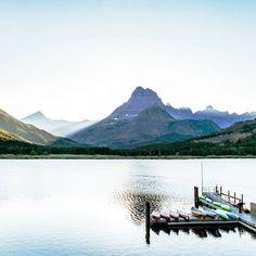 Swiftcurrent Lake, Glacier National Park