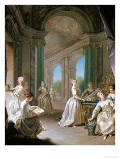 1728, Modern Virgins. Jean Raoux