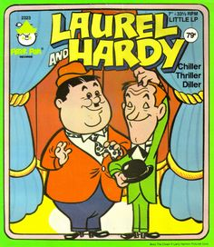 framed cartoon strip laurel and hardy - Google Search