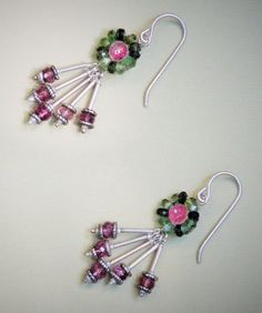 Hey, I found this really awesome Etsy listing at https://www.etsy.com/listing/194942910/beaded-tourmaline-earrings