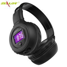 Gorliwy B570 Bezprzewodowy Zestaw Słuchawkowy Bluetooth Słuchawki Stereo Micor LCD Przenośne Składane Słuchawki mp3 Sd z MIC ręcznie bezpłatne