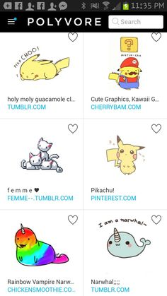Cute Cartoon Characters, Peanuts Comics, Pikachu, Kawaii, Rainbow, Rain Bow, Kawaii Cute, Rainbows