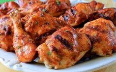 Sriracha Mango BBQ Chicken