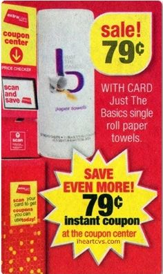 FREE Just the Basics Paper Towels At CVS!