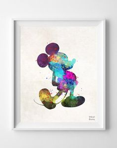 Mickey Mouse Type 1 Print