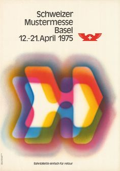 Walter Haettenschweiler, Schweizer Mustermesse Basel, 1975